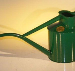 Green Metal Watering Can - 2 Pints