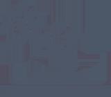 Bonsai Tree Gardens Retina Logo - Grey